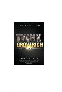 Boek cover think grow rich the legacy James Whitaker